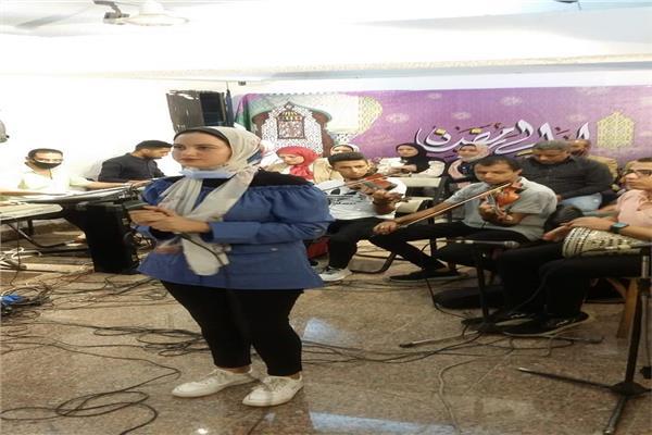 موسيقى عربية المنيا تتألق فى ليالى رمضان الثقافية والفنية