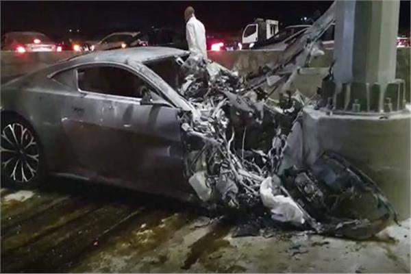 حادث مأسوي بطريق السويس