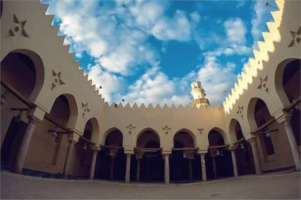 مسجد الحسن الصالح من معالم البهنسا