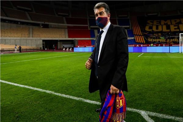 خوان لابورتا رئيس برشلونة