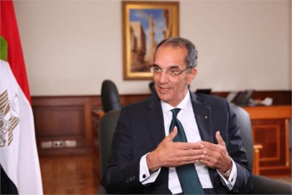وزير الاتصالات وتكنولوجيا المعلومات الدكتور عمرو طلعت
