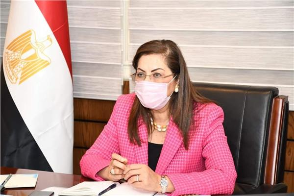 وزيرة التخطيط والتنمية الاقتصادية الدكتورة هالة السعيد