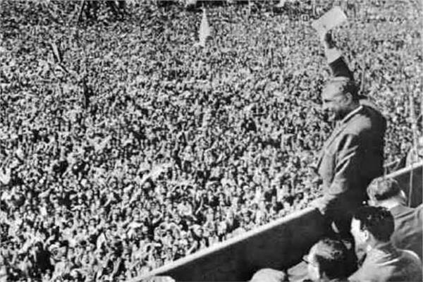 الرئيس الراحل جمال عبدالناصر - أرشيف أخبار اليوم