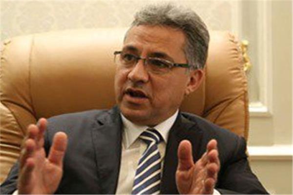 نائب أحمد السجينى رئيس لجنة الإدارة المحلية بمجلس النواب