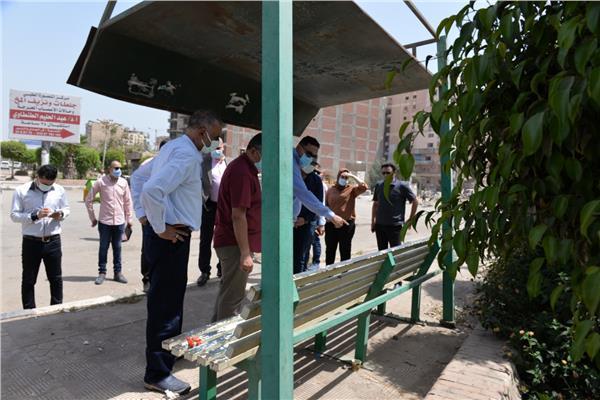 محافظ الدقهلية ونائبه في جولة بمدينة المنصورة للتأكد من تنفيذ قرار غلق الحدائق العامة والمنتزهات
