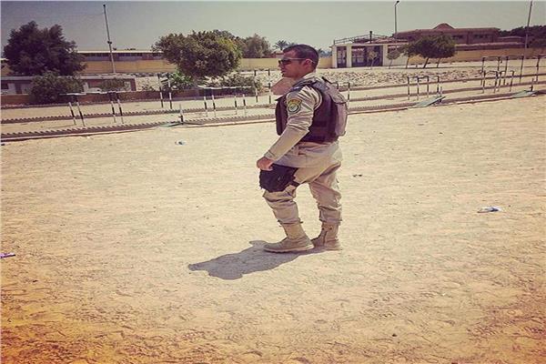 الملازم أحمد شوشة من بلد الغريب للاستشهاد في كمين الواحات
