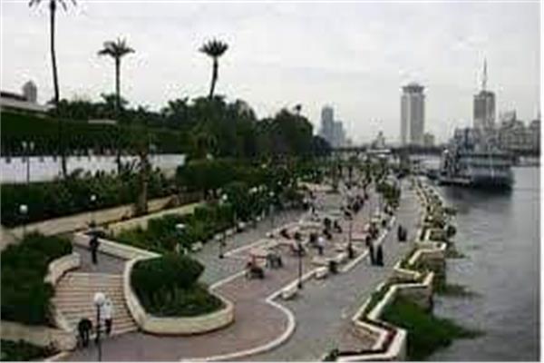 تطوير ممشى أهل مصر على كورنيش النيل