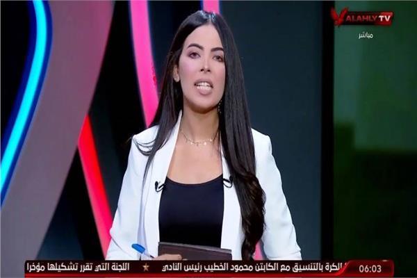 المذيعة سارة محسن