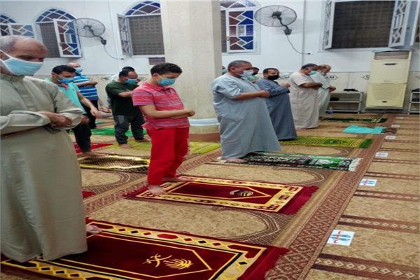 التراويح في المساجد