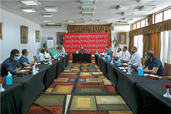 مجلس إدارة النادي الأهلى