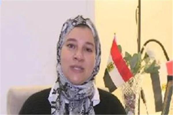 ريم الصاوي زوجة الشهيد محمد وحيد