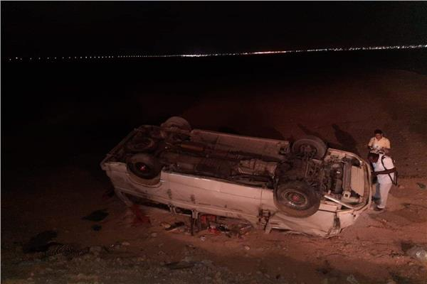 حادث طريق قنا- سوهاج