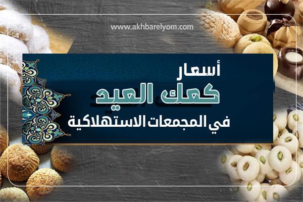 إنفوجراف | اسعار كعك العيد فى المجمعات الاستهلاكية