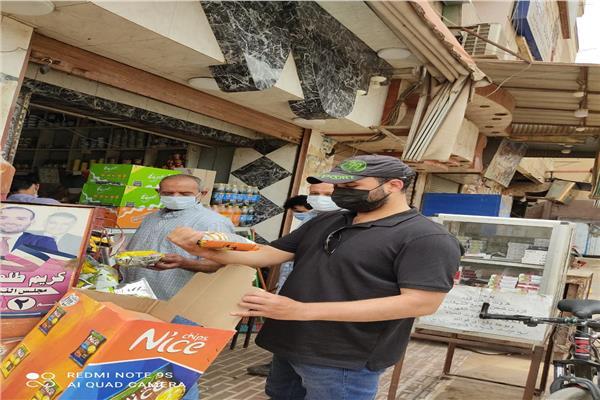 تحرير 19 محضر تموين  وإعدام 100كجم أغذية فاسدة بالمنوفية