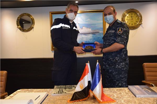 تدريبات عسكري مشتركة بين مصر وفرنسا