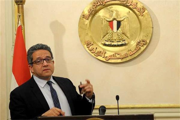 وزير السياحة والاثار الدكتور خالد العناني