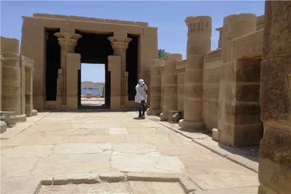 تطهير و تعقيم المتاحف و المناطق الأثرية