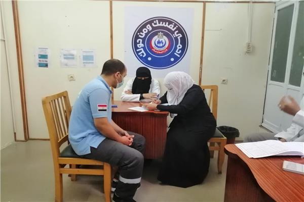 بدء فعاليات تطعيم لقاح فيروس كورونا ب 12 مركز جديد بالدقهلية