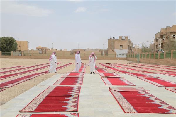 المساجد في عيد الفطر المبارك