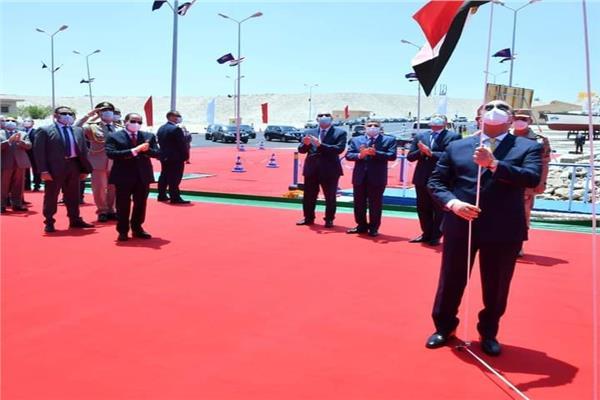 فخامة الرئيس عبد الفتاح السيسي رئيس الجمهورية