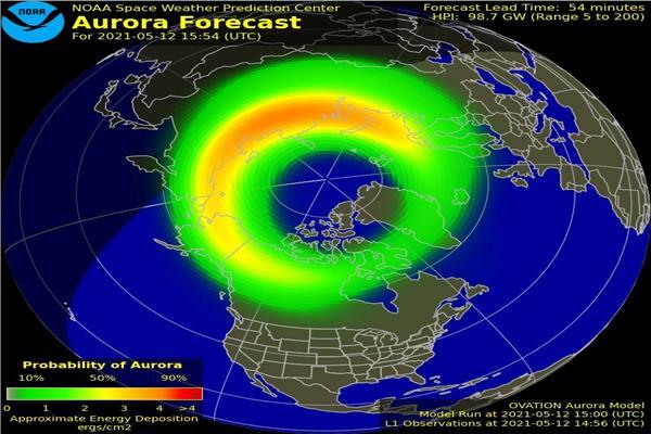 عاصفة جيومغناطيسية قوية