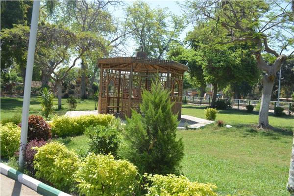 حدائق ومنتزهات القليوبية مغلقه