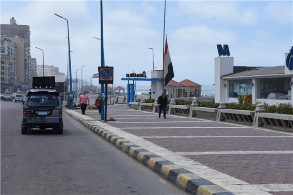 بكورنيش الإسكندرية
