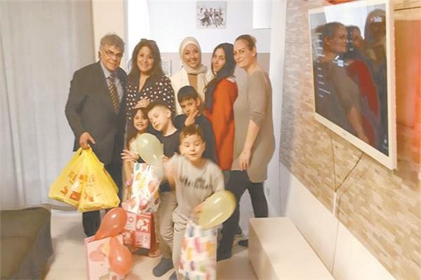 أبناء الجالية المصرية فى ألمانيا يحتفلون بالعيد