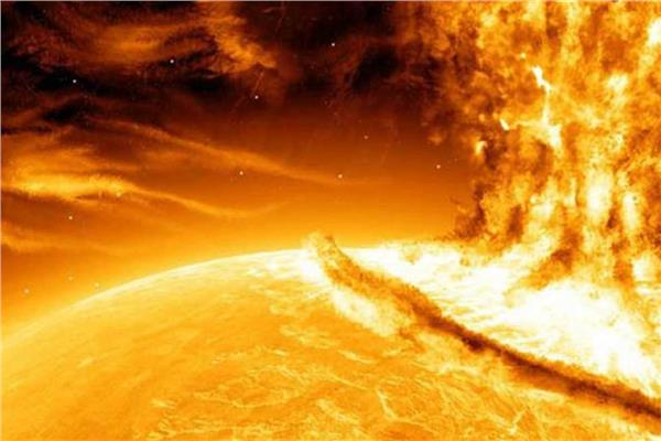 عاصفة شمسية