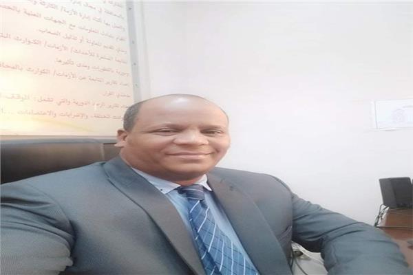 محسن الشامى مدير إدارة الأزمات بالأقصر