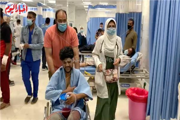 الأجراءات الأحترازية داخل مستشفيات القصرالعيني