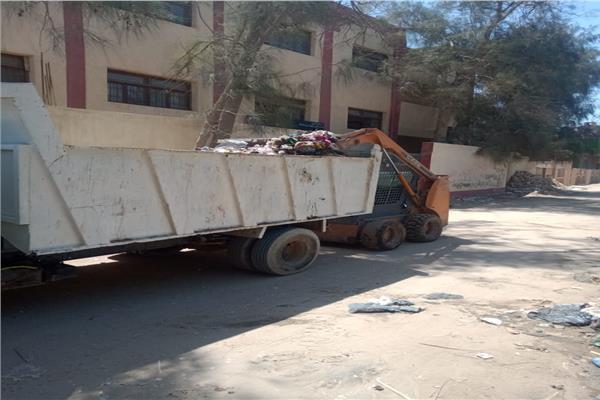 رفع 105 طن مخلفات من البدرشين في ثالث أيام عيد الفطر