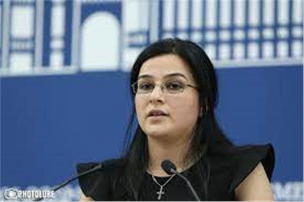 المتحدثة باسم وزارة الخارجية الأرمينية آنا ناغداليان