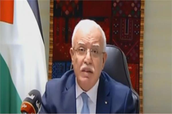 رياض المالكي، وزير خارجية فلسطين