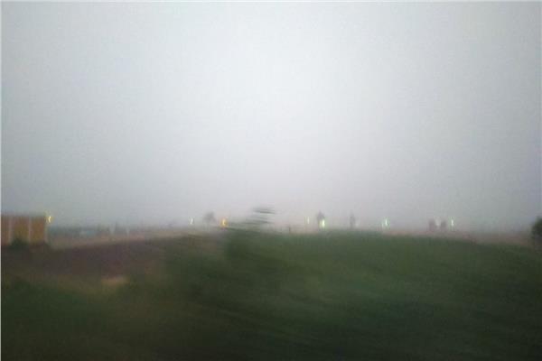 بالصور عاصفة ترابية تضرب محافظة المنيا