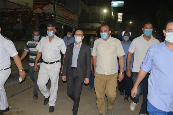 نائب محافظ سوهاج يقودحملة مكبرة بمركزي أخميم وساقلتة