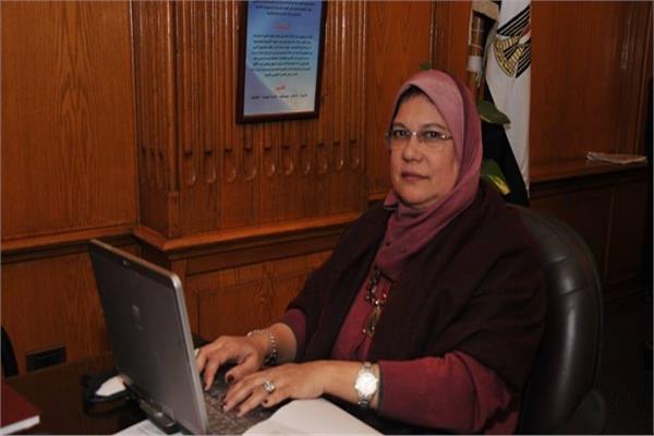 الدكتورة أماني إسماعيل عميد كلية العلوم جامعة الإسكندرية