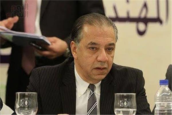 شريف الجبلى رئيس لجنة الشئون الافريقية بمجلس النواب