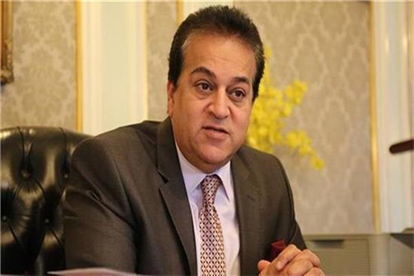 د.خالد عبد الغفار وزير التعليم العالى والبحث العلمى