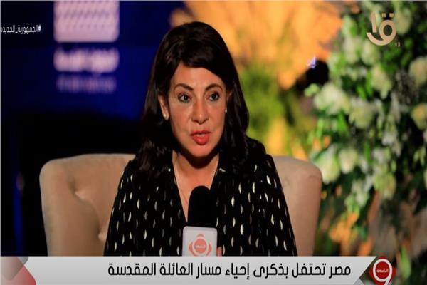 درية شرف الدين رئيس لجنة السياحة بمجلس النواب