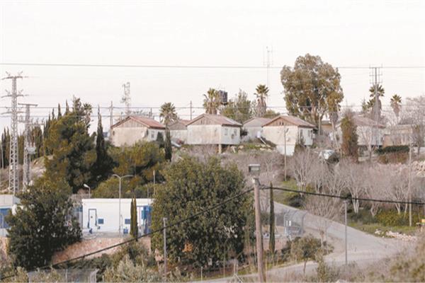 مستوطنات إسرائيلية قرب الخليل