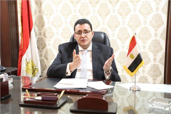 الدكتور خالد مجاهد المتحدث الرسمي باسم وزارة الصحة والسكان