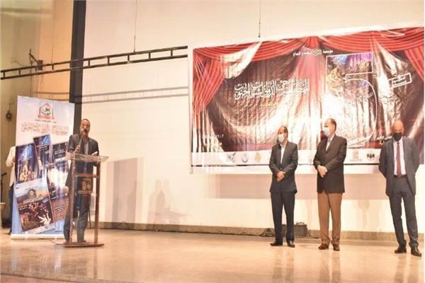 محافظ أسيوط يفتتح مهرجان المسرحي الدولي