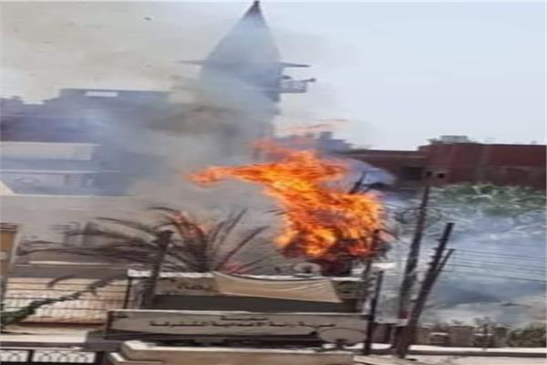 حريق بمتحف عرابي بالشرقية