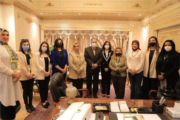 مايا مرسي تشارك في اجتماع لجنة الشوؤن الافريقية بالنواب