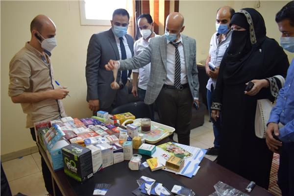 ضبط مصنع لتصنيع وتعبئة الأدوية المغشوشة بالعاشر من رمضان