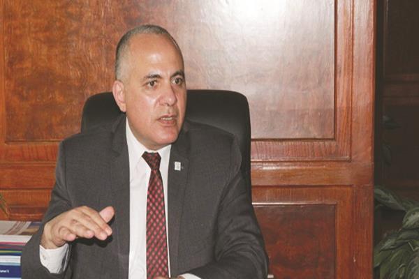 د. محمد عبد العاطى وزير الموارد المائية والري