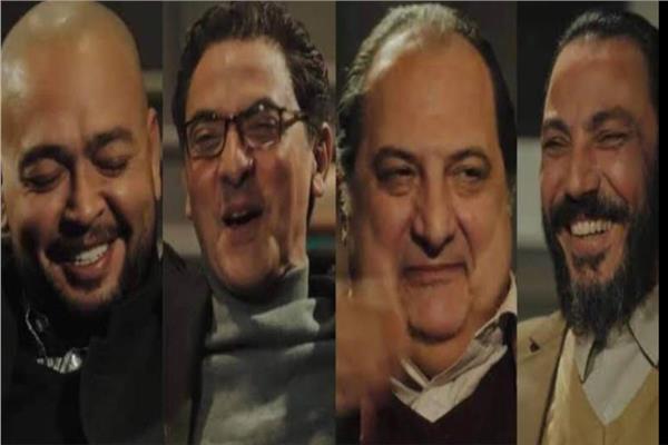 طارق لطفى وخالد الصاوى وفتحى عبدالوهاب وأحمد رزق