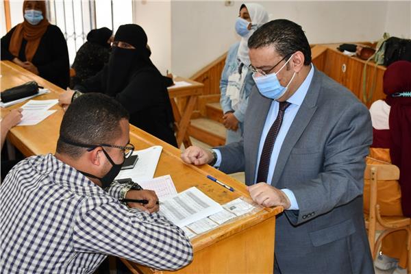 تصحيح امتحانات جامعة قناة السويس