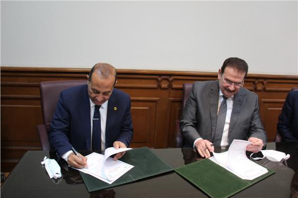 بروتوكول تعاون مع المنظمة العربية للتنمية الإدارية بجامعة الدول العربية